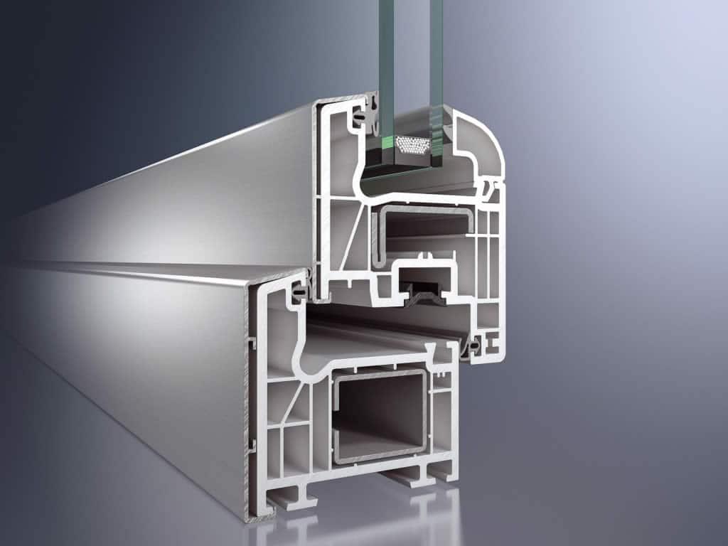 Infissi pvc alluminio isol 70q mix for Finestre in pvc