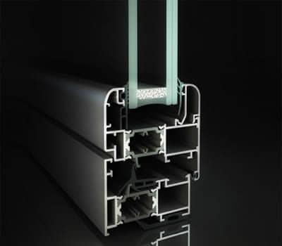 infissi in alluminio export 68tt