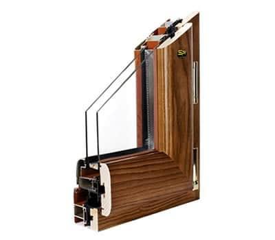 infiss alluminio legno trial classic